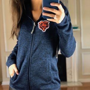 Chicago Bears Zip Up Sweatshirt NFL Women S